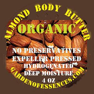 organic almond body butter