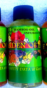 get rid of crow;s feet with bamboo oil