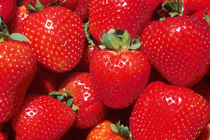 strawberries for cleansing