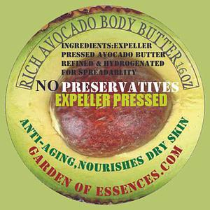 avocado body butter